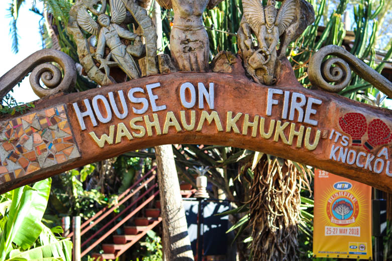House on Fire - Swaziland
