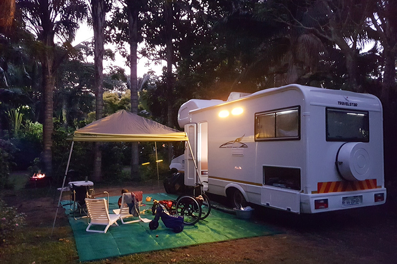 Maui 6 Berth Camper - Dolphin Holiday Resort, Ballito