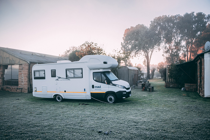 Maui 6 Berth Camper at Waaidam outside Harrismith