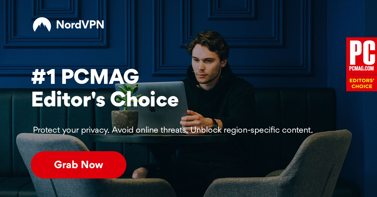 Nord VPN PCMag Editors Choice