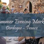 Summer Evening Market in Dordogne – France