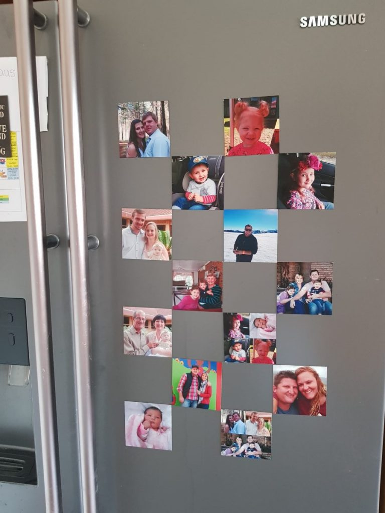 Personalized Photo Fridge Magnets