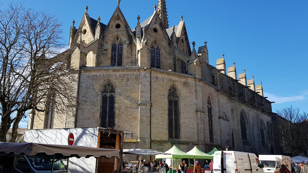 Saint-Maurice Cathedral - Mirepoix, France