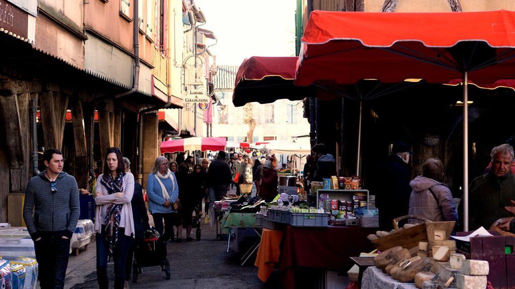 Mirepoix Market, France