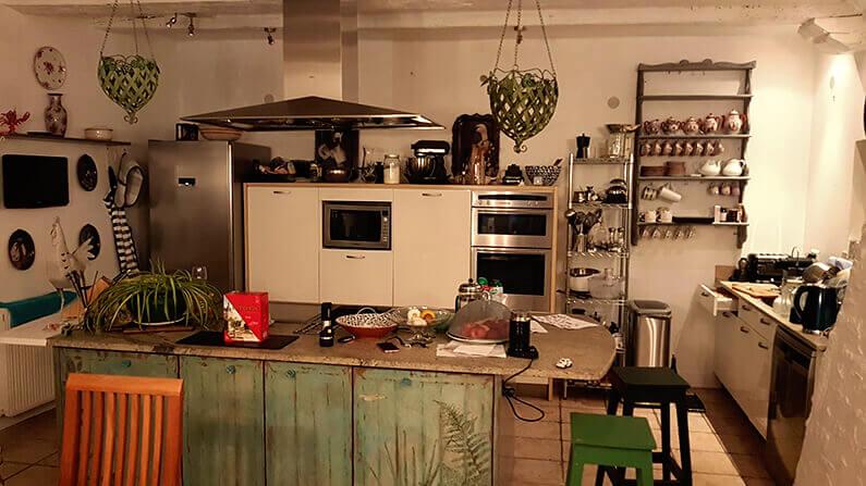 France House Sit Kitchen